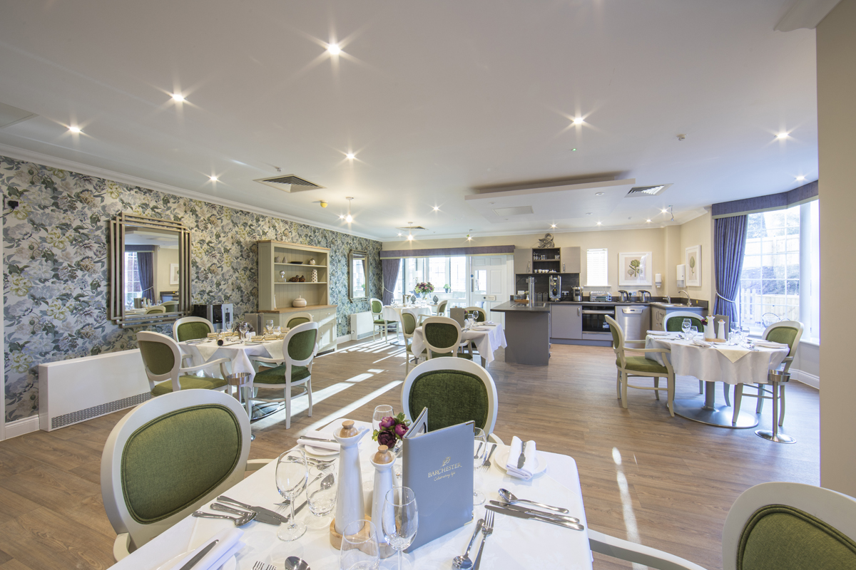 Care Home, Dining Room, Sherborne, Dorset