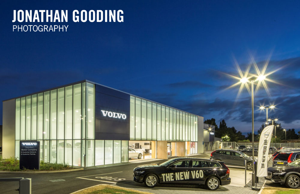 Volvo showroom , Taunton